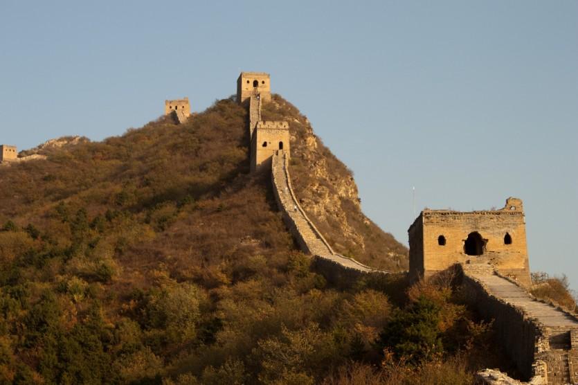 Chinese muur China -  Foto: Matt Barber (Flickr)