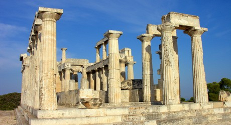 Tempel Griekenland - foto: Dennies Jarvis